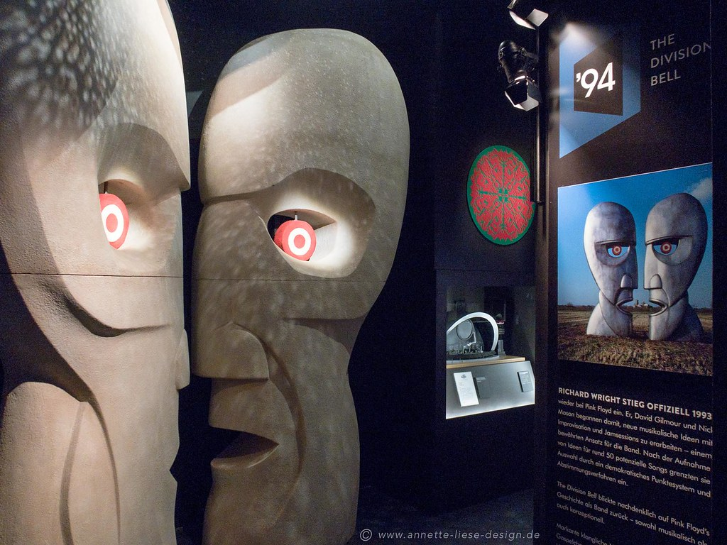The Pink Floyd Exhibition Dortmund 8 Head Figures From Pin Flickr