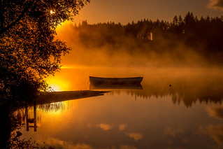Sunrise at Loch Rusky | by Ian D