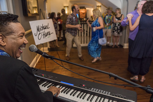 Michael O'Hara at the WWOZ Groove Gala on September 6, 2018. Photo by Ryan Hodgson-Rigsbee www.rhrPhoto.com