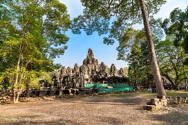 Bayon Temple, Angkor, Cambodia-1a