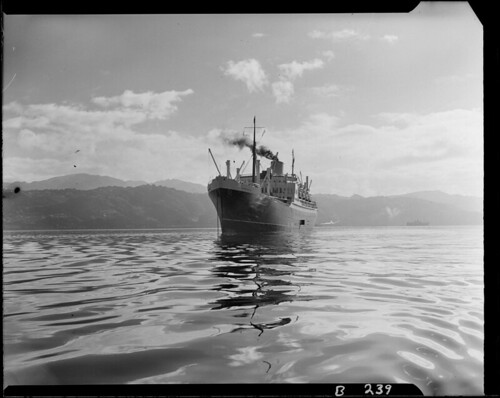 SS Rangitoto, New Zealand Shipping Company, 1950 | by Archives New Zealand