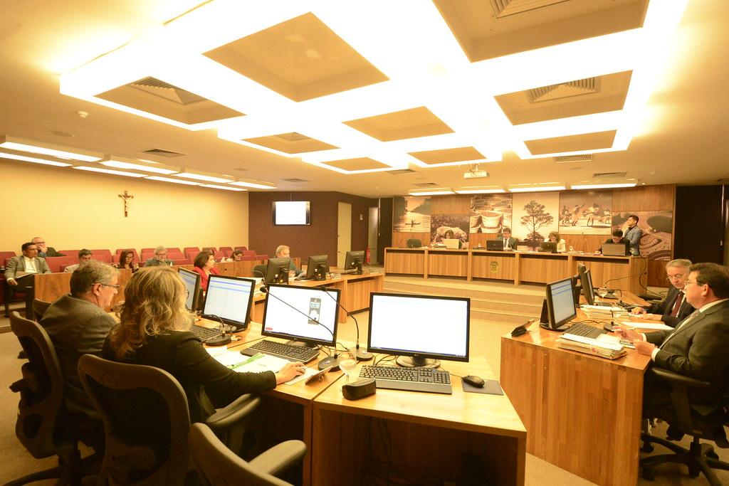 TCM aprova contas de ex-prefeito de Óbidos e da ex-primeira dama de Terra Santa, Plenário do TCM Pará