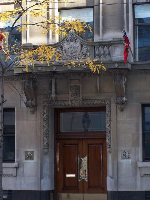 Toronto Ontario - Canada - The Albany Club - Heritage Building