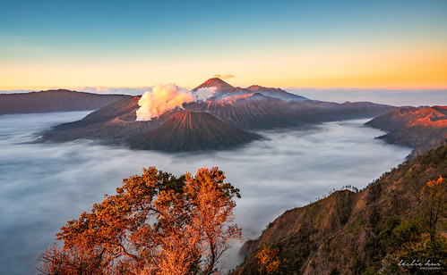 indo sonyalpha sonya7rii sunrise indonesia mountbromo mountain seaofclouds landscape