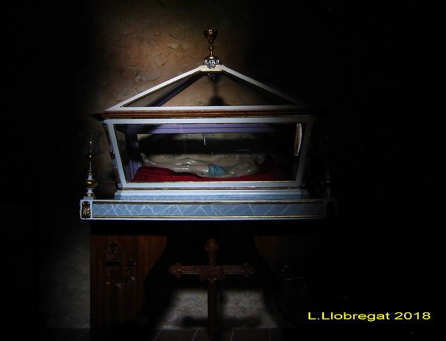 Sepulcro. Ermita del Cristo. Alfafara