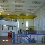 Blick ins Wasserkraftwerk Kahlenberg