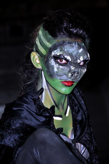 Retrato en verde / green portrait