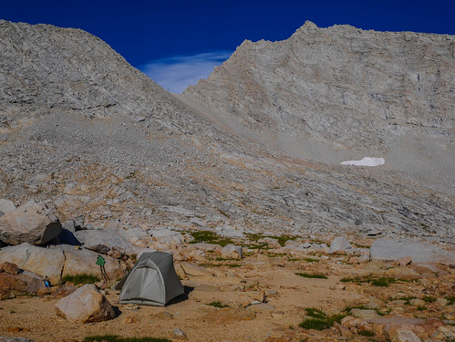 Camp 4 at 12,200ft just south of Forester Pass | by snackronym