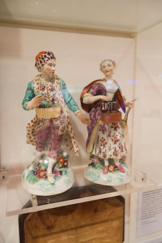 Antique ceramic figurines