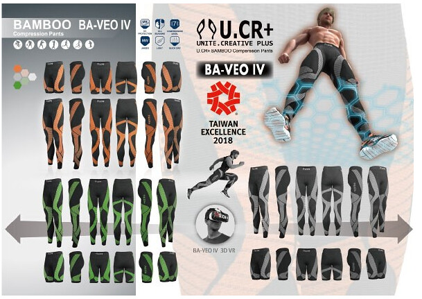 Unite Creative Design Co., Ltd.'s Compression seamless bike sports pants