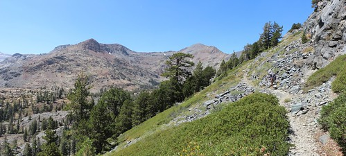2585 The Pacific Crest Trail as it descends south from Dick Pass offers plenty of views to the west | by _JFR_