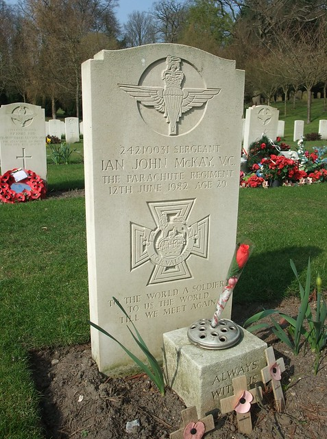 Sergeant Ian John McKay V.C.