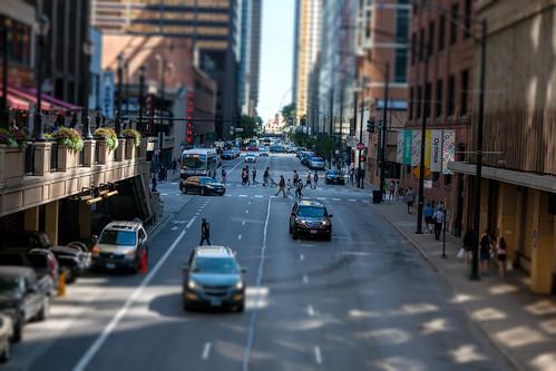 Chicago Street - Tilt Shift