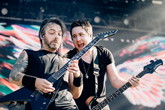Bullet for my Valentine en Riot Fest Chicago 2018