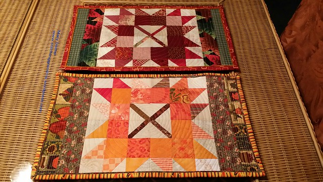 2 Autumn jubilee placemats
