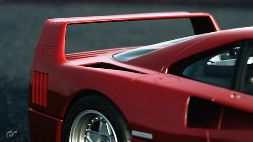 Ferrari F40   by nbdesignz