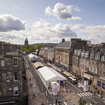 Book Festival village on George Street | © Robin Mair