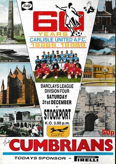Carlisle United V Stockport County 31-12-88 | by cumbriangroundhopper