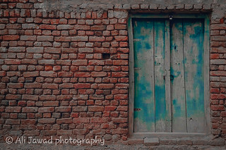 You suppose that You are the Lock on the Door, But You are the Key that Opens It. #Khairpurjusodiaries . . .  #wall #brick #old #dirty #stone #architecture #exterior #expression #facade #construction #obsolete #rough #concrete #house #cement #solid #patte