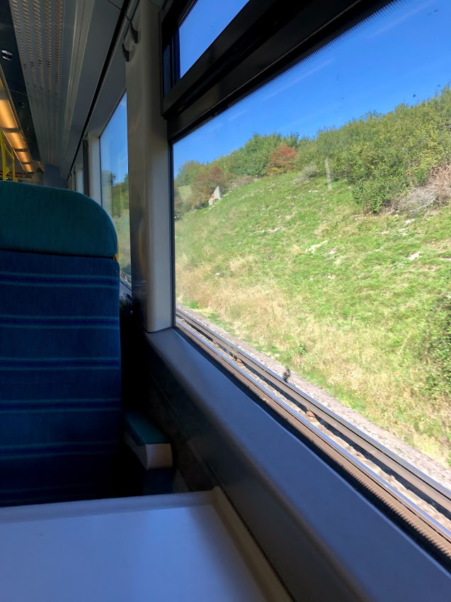 25 Train journey from Eastbourne to London