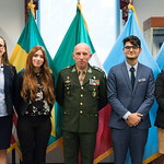 Ju, 09/20/2018 - 13:39 - On Thursday, September 20, 2018, the William J. Perry Center for Hemispheric Defense Studies honored General Salvador Cienfuegos Zepeda, Secretary of National Defense of Mexico, and Escola Superior de Guerra (ESG), National War College of Brazil, with the 2018 William J. Perry Award for Excellence in Security and Defense Education. Named after the Center's founder, former U.S. Secretary of Defense Dr. William J. Perry, the Perry Award is presented annually to individuals who and institutions that have made significant contributions in the fields of security and defense education. From the many nominations received, awardees are selected for achievements in promoting education, research, and knowledge-sharing in defense and security issues in the Western Hemisphere. Awardees' contributions to their respective fields further democratic security and defense in the Americas and, in so doing, embody the highest ideals of the Center and the values embodied by the Perry Award.