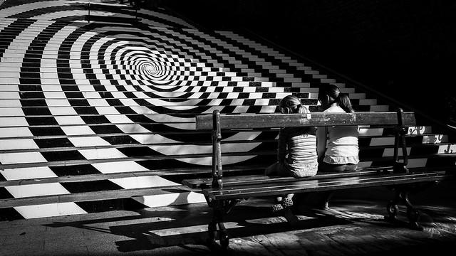 Décor en spirale