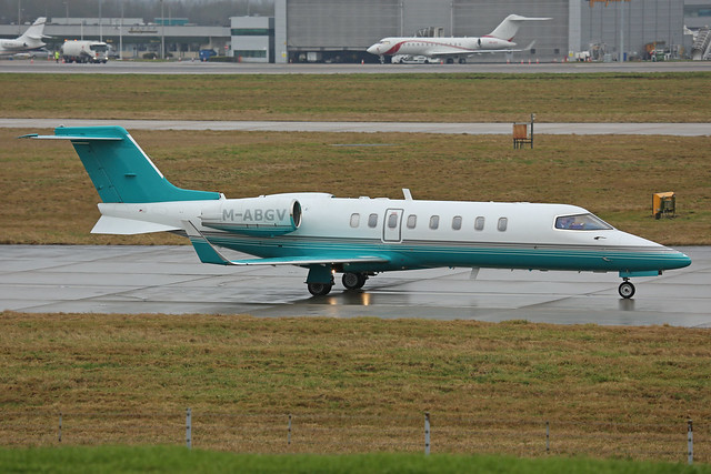M-ABGV Learjet 45 Ryanair Stansted 03rd February 2018