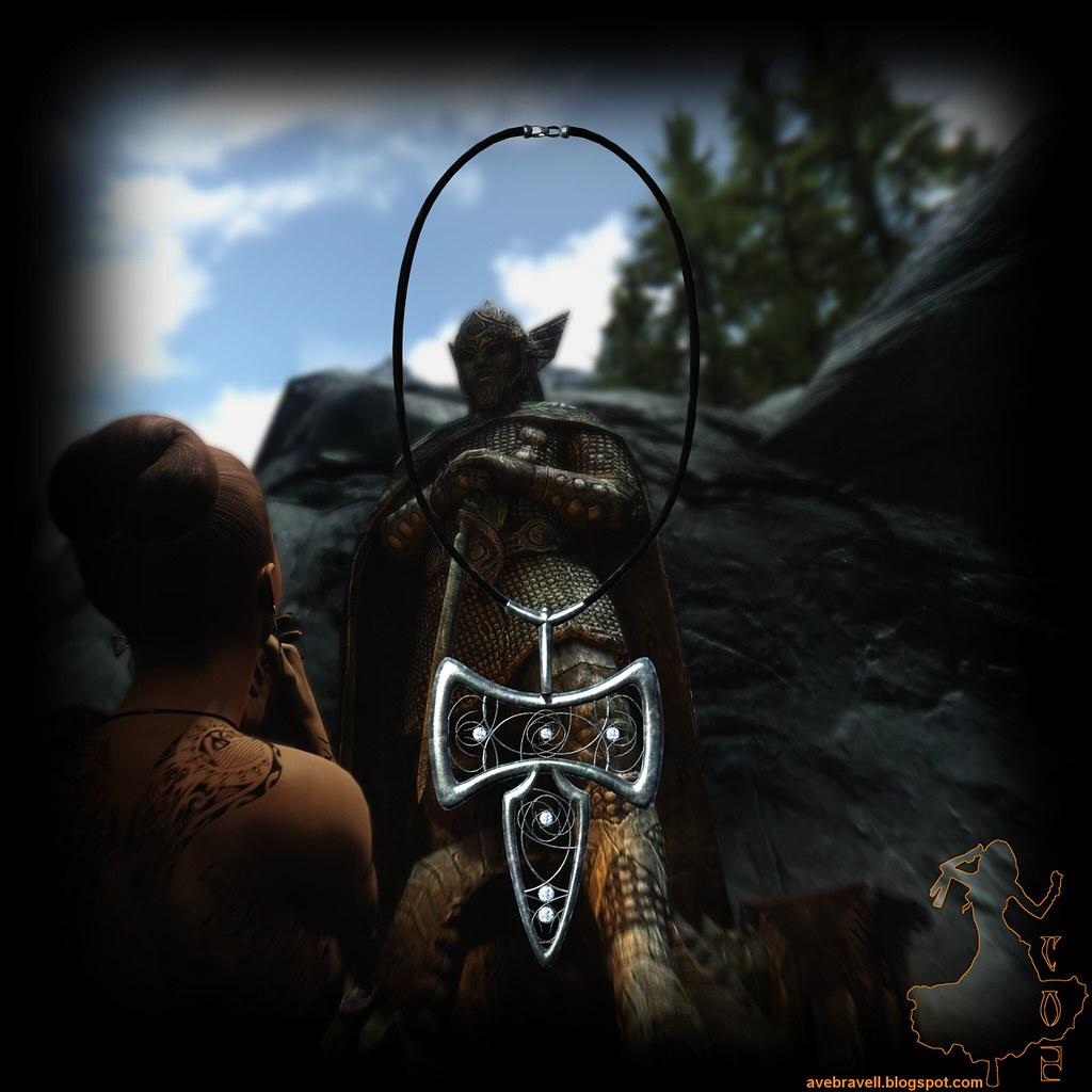 Amulet Of Talos divine jewelry: talos amulet   ave brave   flickr