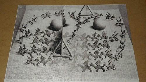 Puzzelman 1000 Magic Mirror, M.C. Escher | by Olcia Ola