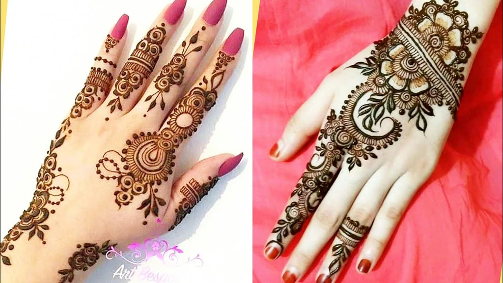 Simple Easy Stylish Henna Mehndi Designs For Hands Flickr