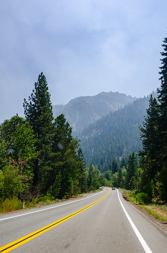 Sur la route vers Mammoth Lakes | by Julien | Quelques-notes.com