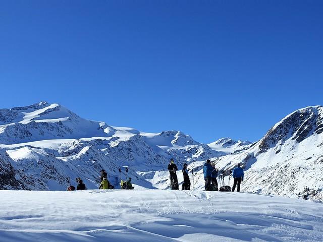 Passeiertal, sneeuwschoenwandelen standplaatstocht individueel