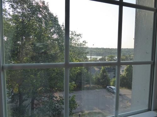gorebay manitoulin island ontario window view summer outside
