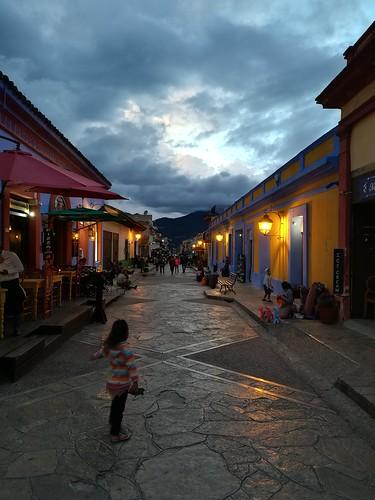 Anoche en San Cristóbal
