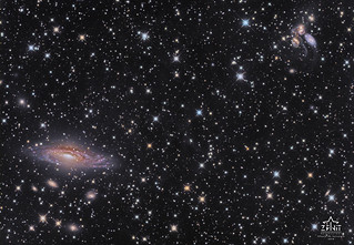 NGC 7331 and Stephan's Quintet | by ZENIT Observatory