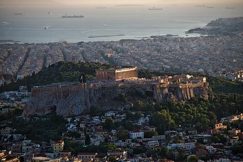 atenas licabeto colina grecia viaje greek athens lycabettus