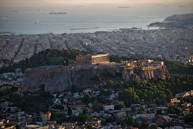 Athens | Atenas | Mount Lycabettus