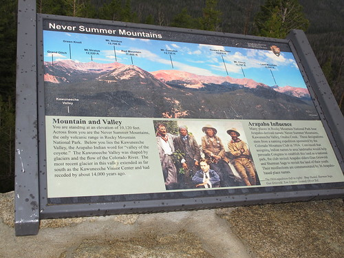 RMNP Info placard, CO. | by WY0WDR