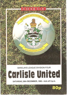 Scunthorpe United V Carlisle United 29-12-1990 | by cumbriangroundhopper