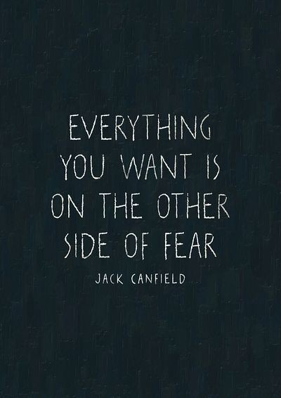 Citations Nouvelle Vie Fear Is Not Real Fear Is An Emoti