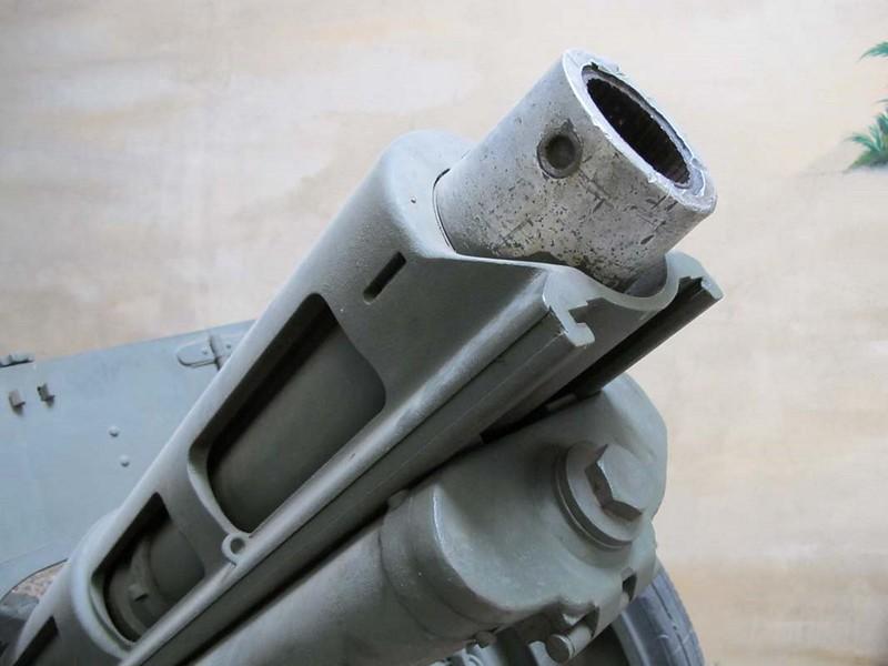 Italiaanse 75mm Houwitser-18 Model 35 8