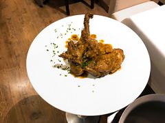 Conejo en Salmorejo. Chef Koketo