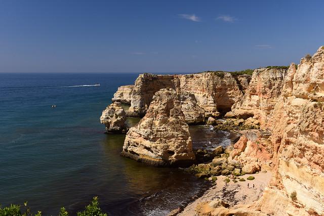 Praia da Marinha, Algarve, Portugal August 2018 1324