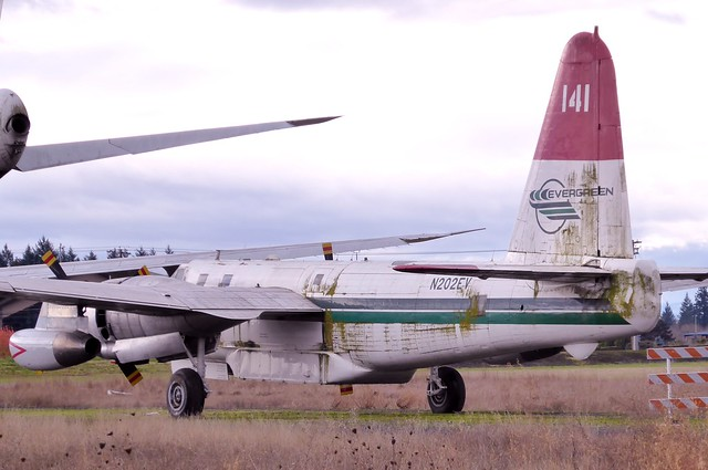N202EV Evergreen Aviation & Space Museum McMinnville 12 November 2017