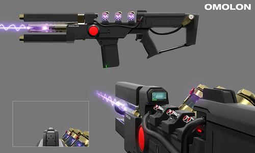 "Destiny 2: Forsaken Concept Art – PlayStation-Exclusive Exotic Weapon ""Wavesplitter"" | by PlayStation.Blog"