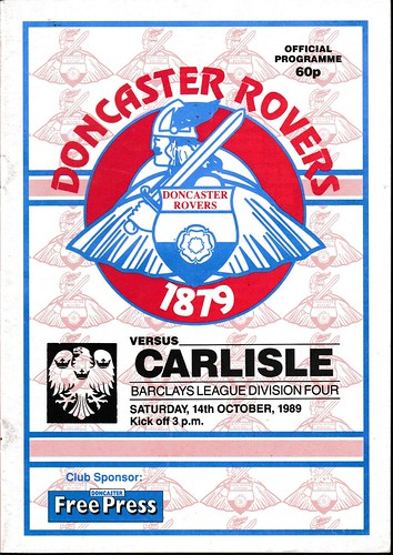 Doncaster Rovers V Carlisle United 14-10-89 | by cumbriangroundhopper