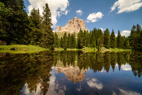 Mountain reflection | by Ellen van den Doel