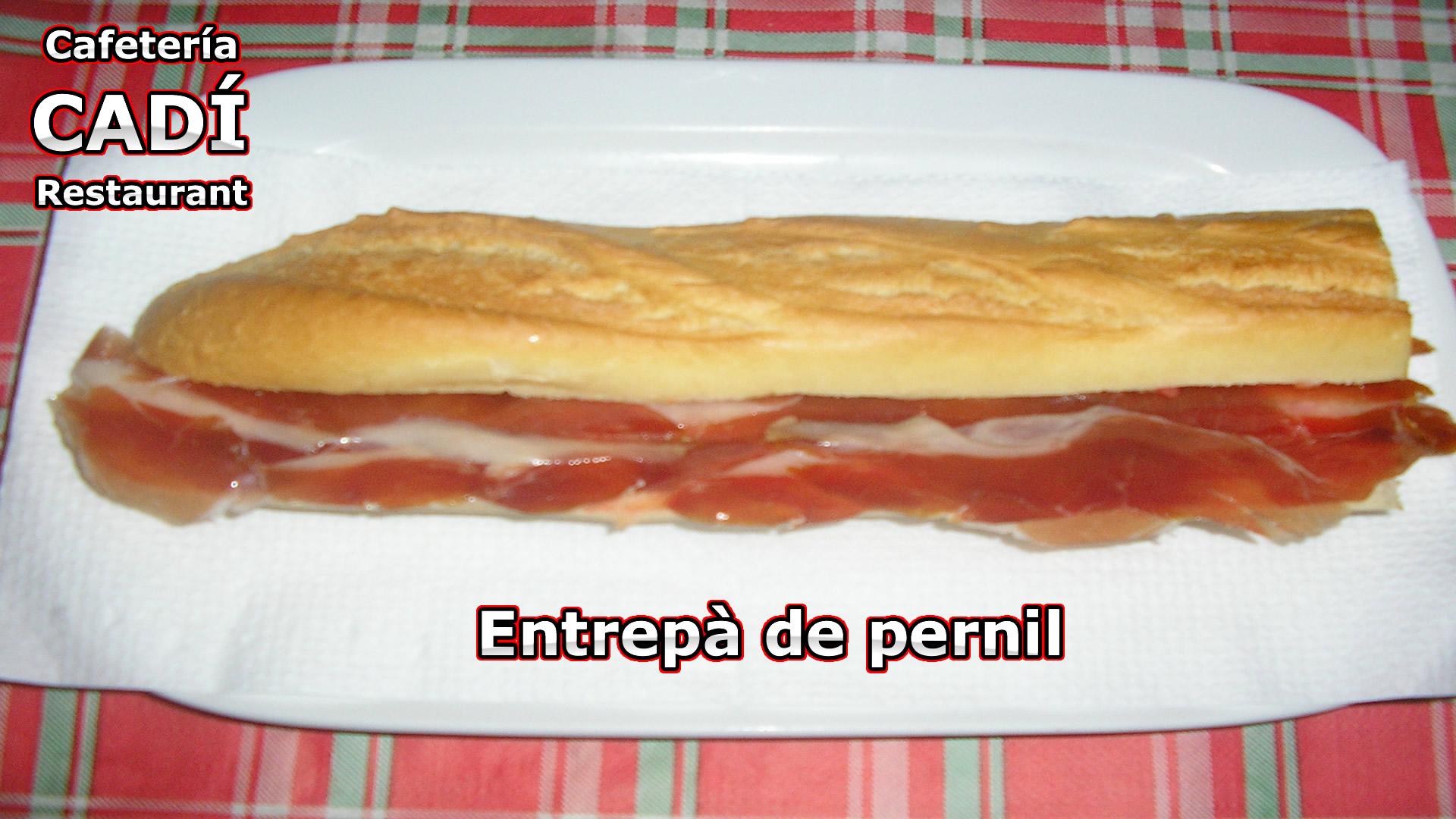 Bocadillo de Jamón Serrano