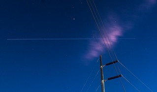 Early humid morning Space Station pass over Cowtown.
