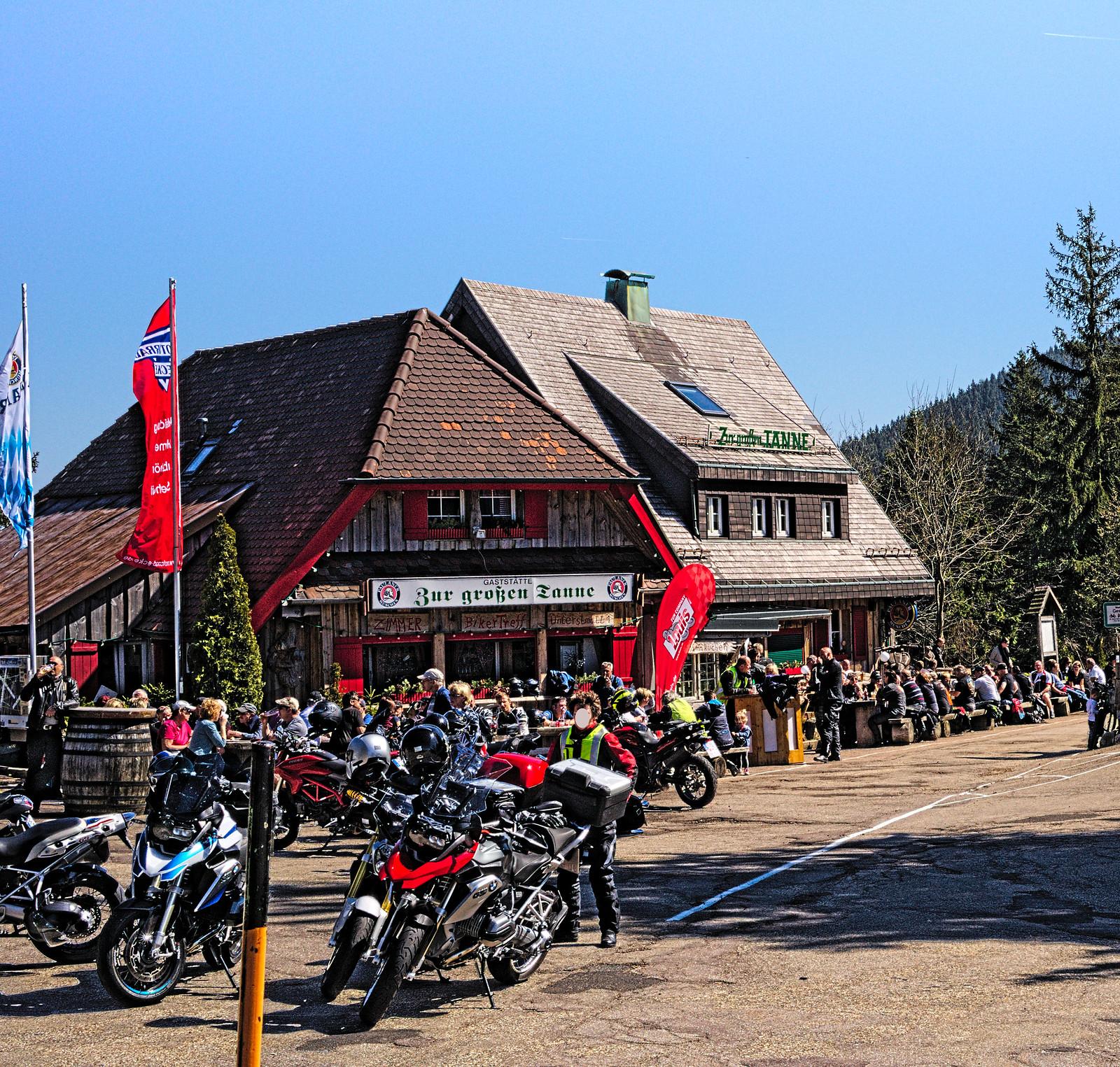 Bikertreff an der Schwarzwaldhochstrasse